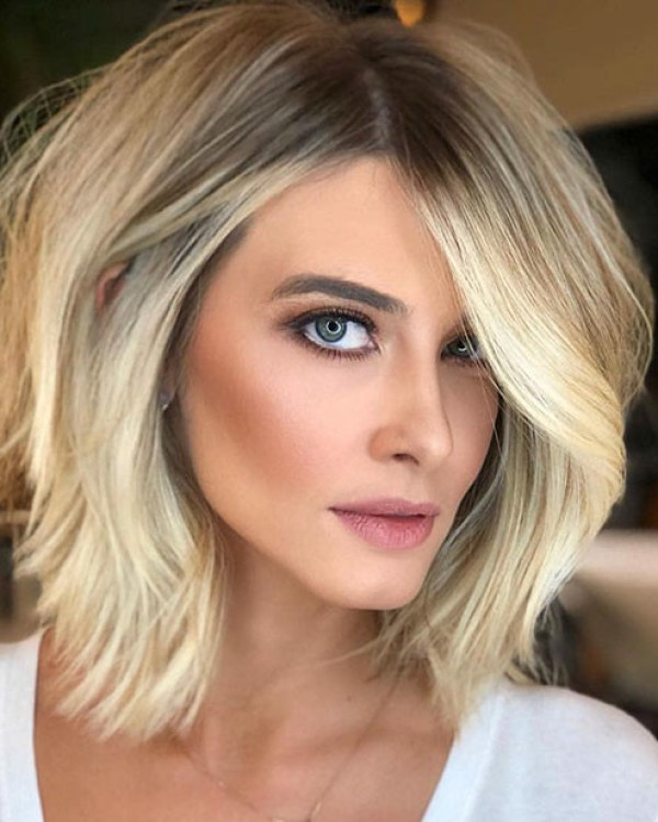 Short-Blonde-Hairstyles Hot Short Hairstyles for Women in 2019