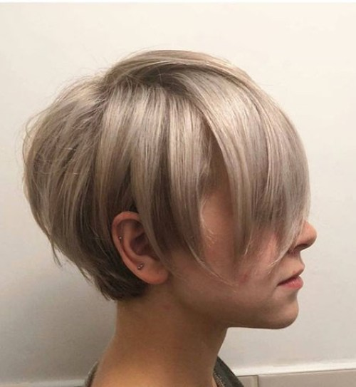 Fine-Blonde-Hair Layered Short Haircuts for Women with Fine Hair