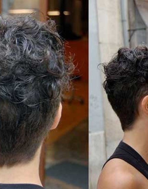 Very-Short-Curly-Hairstyle Stunning Curly Short Hair Ideas for Women