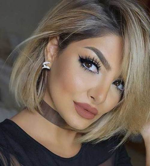 Long-Bob These Days Most Popular Short Grey Hair Ideas
