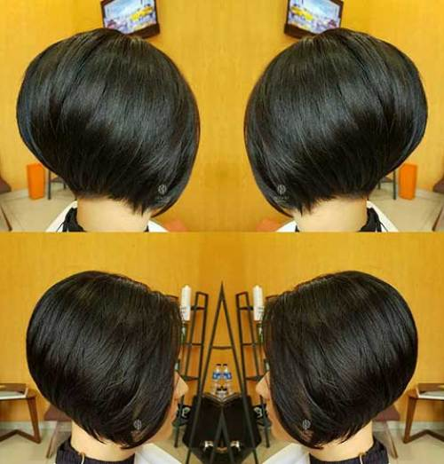Straight-Hair Different Short Spiky Haircuts for Stylish Ladies