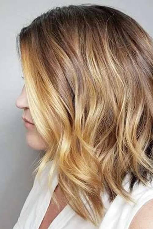 Blonde-Hair Best Short to Medium Hairstyles for Fine Hair