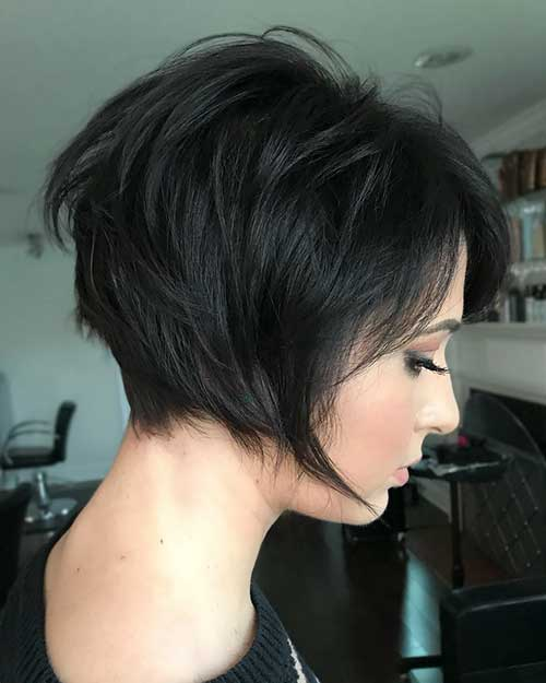 short-layered-hairstyles-for-thick-hair Popular Short Layered Hair