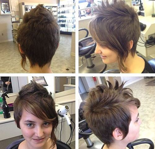 Asymmetrical-Pixie Hottest Easy Short Haircuts for Women