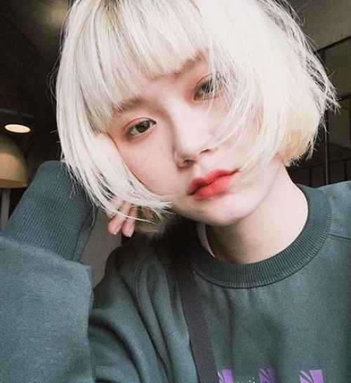 Blonde-Bob Stylish Short Stacked Bob Haircuts