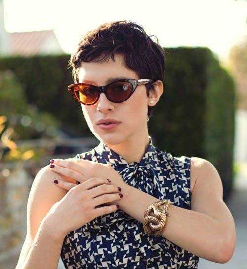 Very-Short-Pixie Modern Short Hairstyles for Women