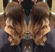 soft ombre hair color