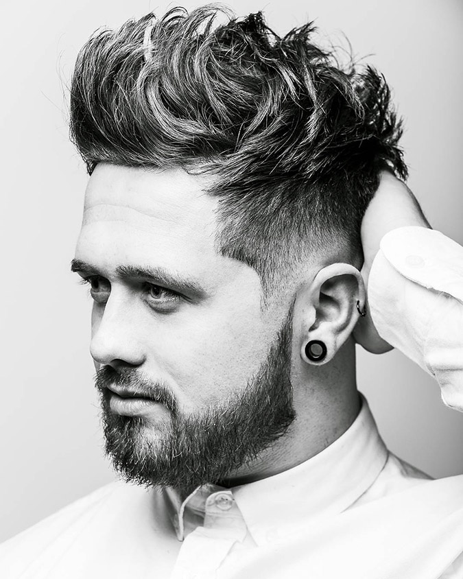 40 Adventurous Brush Up Hairstyle Ideas How To Cut Amp Style