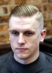 side part haircut classic