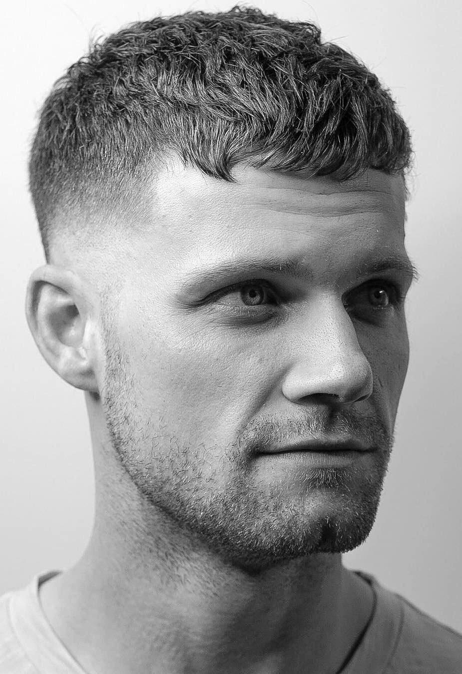 White Guy Fade : white, Elegant, Taper, Haircuts:, Clean-Cut, Gents