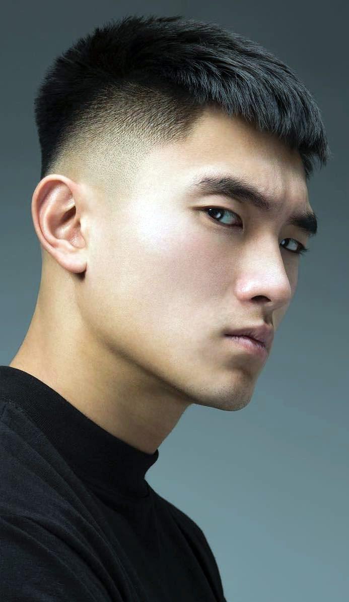 Asian Crew Cut : asian, Trendy, Asian, Hairstyles