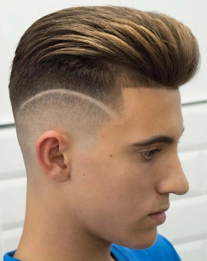 Haircut Line On Side : haircut, Pompadour, Hairstyle, Variations, Comprehensive, Guide