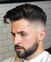 elegant taper fade haircuts