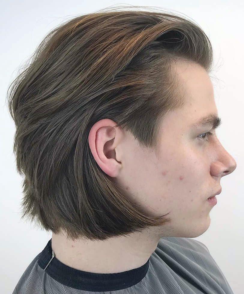 Ear Length Hair : length, Haircut:, Suave, Style, Modern-Day, Gentlemen