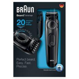 Braun BT3020 Beard Trimmer in box