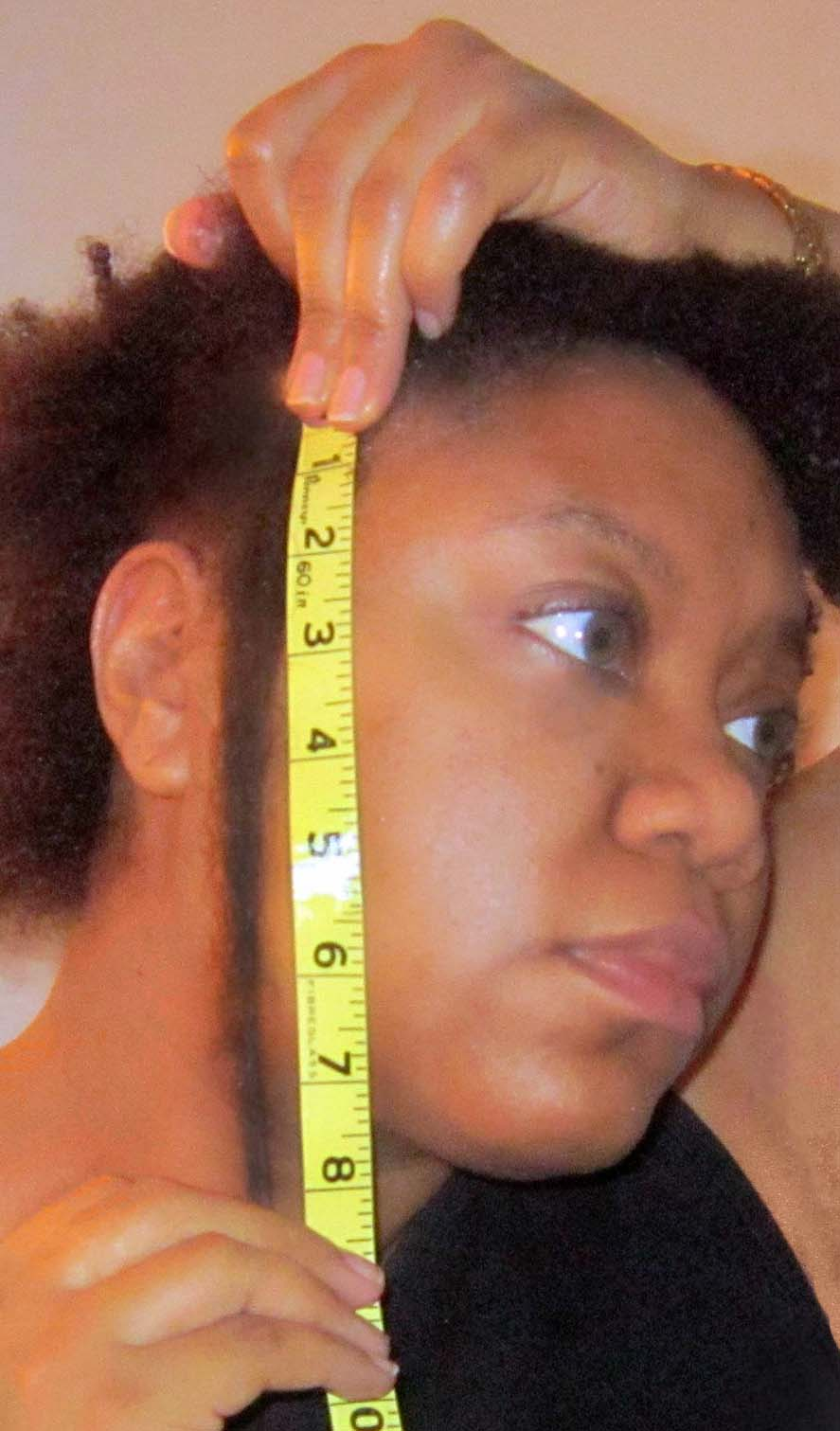 DIY Sulfur Hair Growth Oil Results Relaxed