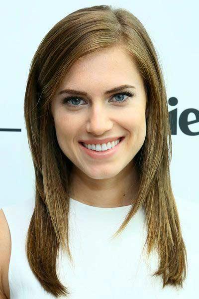 Allison Williams Hair Color Hair Colar And Cut Style