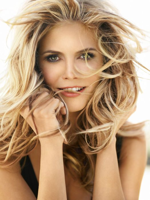 Heidi Klum Hair Color Hair Colar And Cut Style