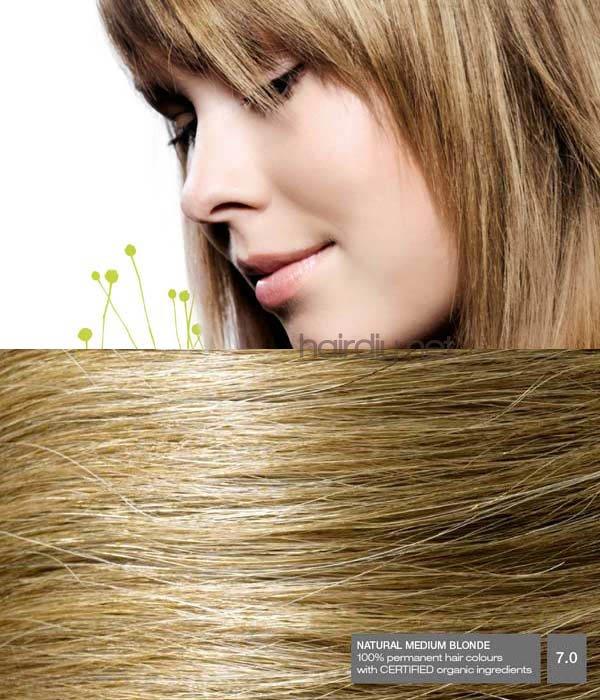 Naturigin Natural Medium Blonde 70 Hair Colar And Cut Style
