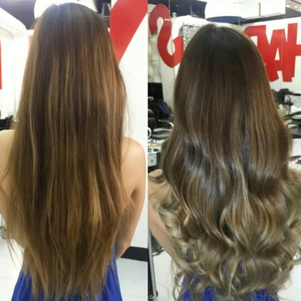 Ash Brown Over Blonde Hair Colar And Cut Style