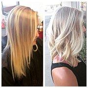 light ash blonde - hair colar