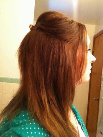 Garnier Olia 643 Light Natural Auburn Hair Colar And