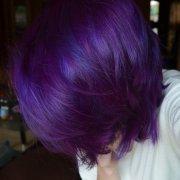 1000 ideas splat purple hair