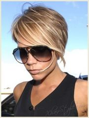 victoria beckham hair color