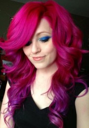manic panic hot pink - hair