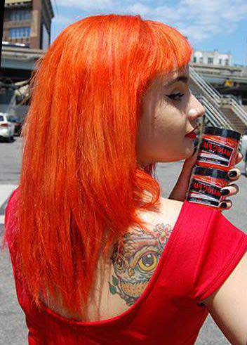 Manic Panic Psychedelic Sunset Hair Colar And Cut Style