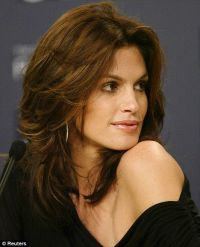 Cindy Crawford Hair Color - Hair Colar And Cut Style
