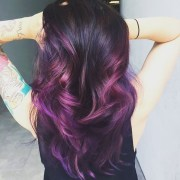 eggplant purple hair color