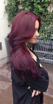 burgundy hair color - colar
