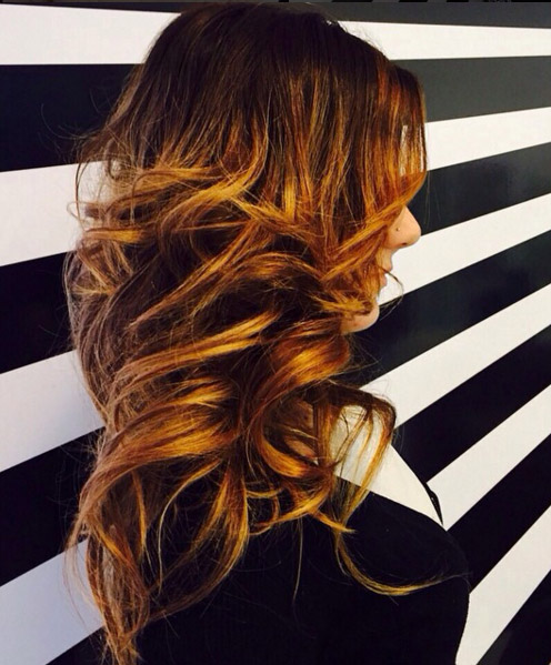 Highlights Hair 2015  Hair Colar And Cut Style