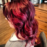 Wild Orchid Hair Color - Hair Colar And Cut Style