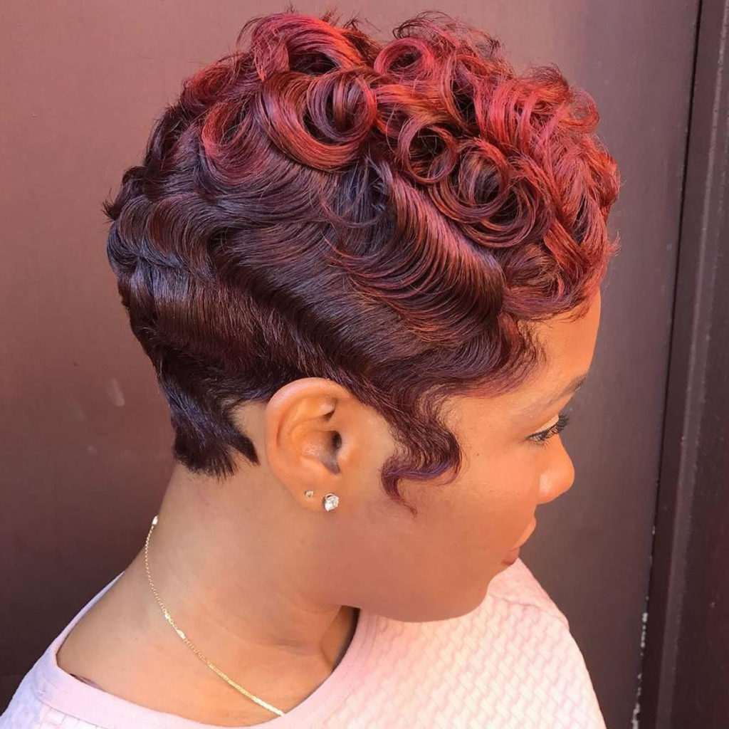 Black Hairstyles Pictures Finger Waves   Finger Wave 1920s ...
