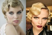 1920's inspired retro hairstyles