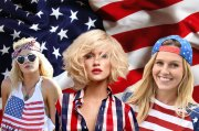 fourth of july patriotic hairstyles