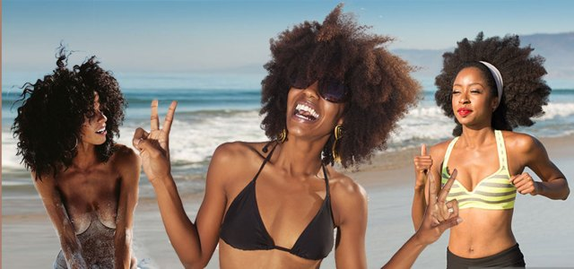summer black women afro hairstyles for beach | hairstyles