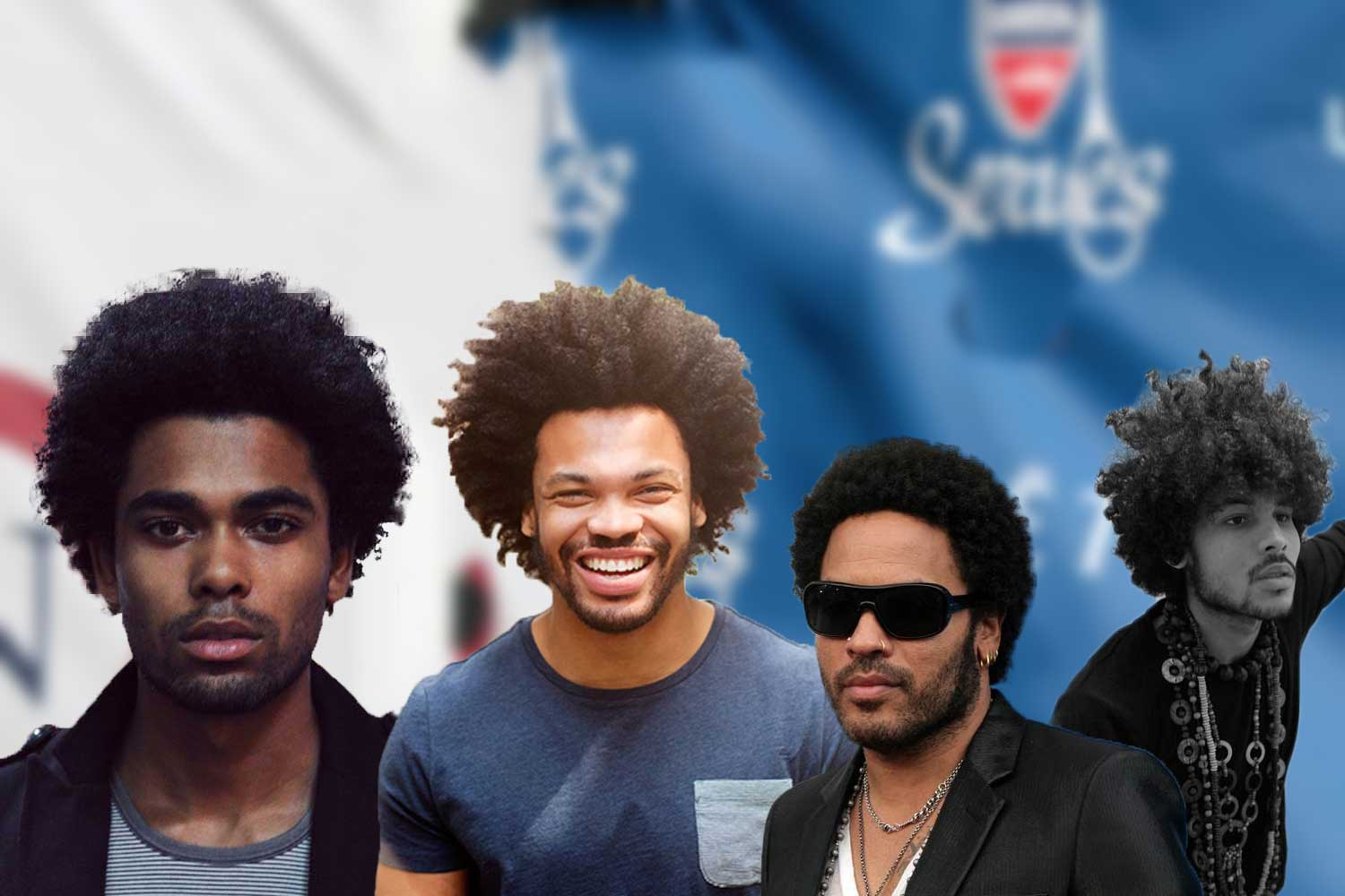 Cool Black Male Afro Hairstyles Get Natural Looks Hairstyles