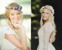 Flower Crown Wedding Hairstyles To Marry This Summer ...