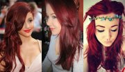 complete palette of red hair colors
