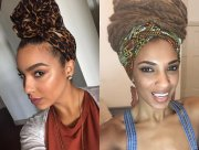 black women hairstyles with head