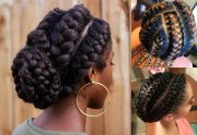 stunning goddess braids hairstyles