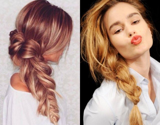 lovely & timeless messy braids hairstyles 2017 | hairstyles