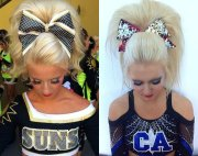 absolutely cute cheer hairstyles