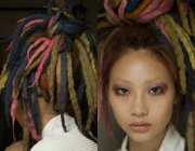 nyfw marc jacobs dreads hairstyles