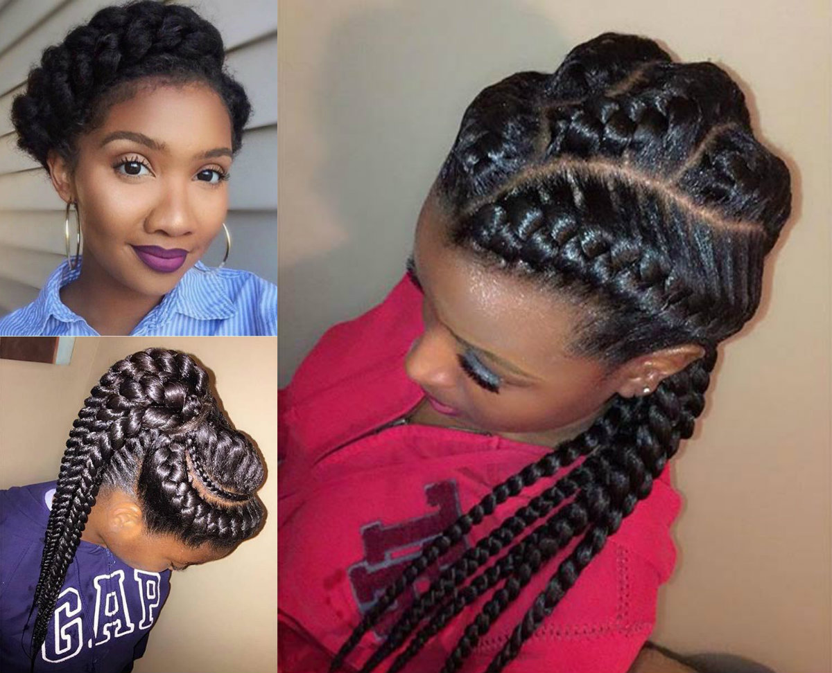 Amazing African Goddess Braids Hairstyles