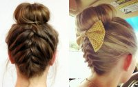 Easy Classy Donut Bun Hairstyles To Create Neat Image ...