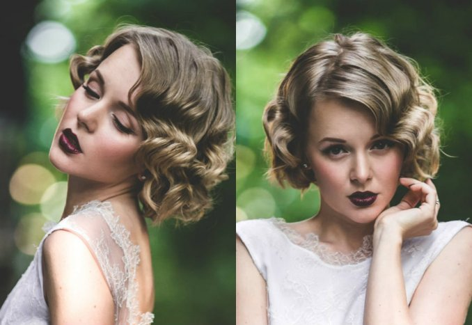 Image Result For Hairstyles For Bobs For Weddings